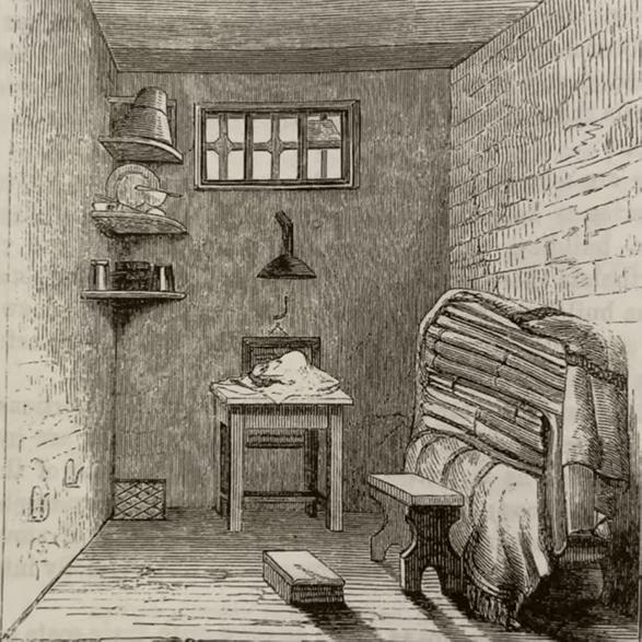 Geelong Gaol cell
